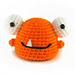Boggle the Gumdrop Monster pattern