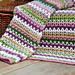 V Stitch Blanket - Yarn Stash Series pattern