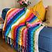 Rainbow Splash Blanket pattern