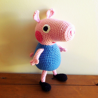 damn it Janet, let's crochet!: Peppa Pig's brother George Plushie | 320x320