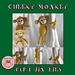 Cheeky Monkey Curtain Ties pattern