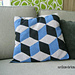 Optical Illusion Pillow pattern