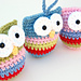 Owl Christmas Ornaments pattern