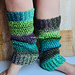 The Flashdance Basic Reversible Legwarmer pattern