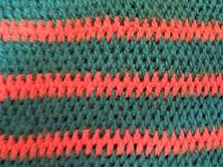Tunisian Full Stitch Stripes