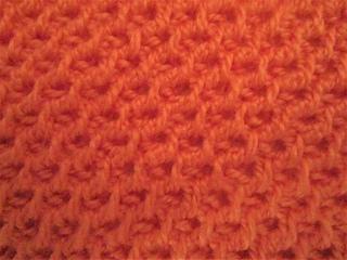 Alternated Tunisian Knit Stitch and Tunisian Purl Stitch