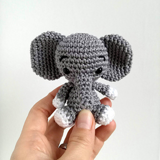 Sew On Elephant Tusks Detail | Crochet elephant pattern, Crochet ... | 320x320