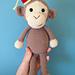 Cheeky Little Monkey pattern