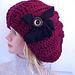 660 SIDEWAYS SLOUCHIE RIBBED HAT pattern
