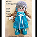 2702 - Sock Doll Tunic dress pattern