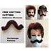 Halloween Mustache pattern