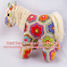 Fatty Lumpkin the Brave African Flower Pony pattern