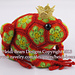 Tomato the Frog Prince African Flower pattern