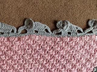 Crochet Elephant Edging Free Crochet Pattern   240x320