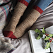 Red Robin Socks pattern