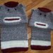 Sock Monkey Matching Scarves pattern