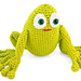 Hubert the Frog pattern