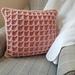 Waffle Stitch Pillow The Cosy Cwtch pattern