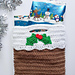 Christmas Pudding Gift Bag pattern