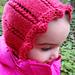 Rib Lace Bonnet pattern