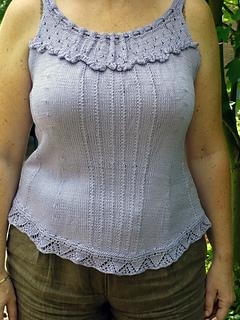 lace-edged corset