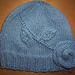 The Elusive Blue Rose Hat pattern