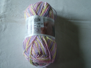 Lilac 1 Skein of  Wendy Beach Baby Yarn Color Thumbelina