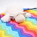 Rainbow Baby Wrap pattern