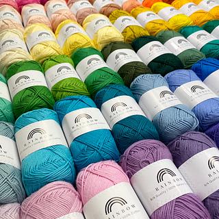 Hobbii Rainbow Cotton 8/4