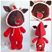 PJ Pals: Rudy Reindeer pattern