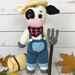 Farmer Clarence Cow pattern