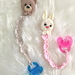 Bunny & Bear Soother Strap pattern