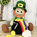 Paddy the Lucky Leprechaun pattern