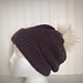 Perfectly Textured Slouchy Hat pattern
