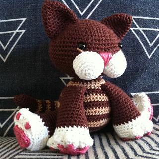 Amigurumi Mermaid Cat Doll Free Crochet Patterns - DIY Magazine | 320x320