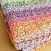 Color Kaleidoscope Blanket pattern