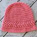 Strawberry Patch Hat pattern