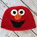 Elmo Beanie pattern
