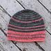 Simple Striped Beanie pattern