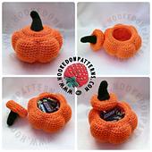 Crochet Pumpkin Pots Free online pattern
