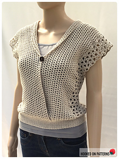 Leora Multi Style Summer Top - Buttoned Front with Folded Collar
