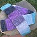 Scrappy Stripey Sock Yarn Scarf pattern