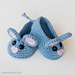 Field Mouse Baby Booties pattern