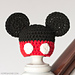 Newborn Mickey Mouse Inspired Hat pattern