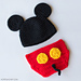 Mickey Mouse Hat & Diaper Cover pattern