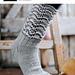 Sokker med bølgemønster 247-16 pattern