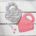 Knit Baby Bibs pattern