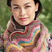 Candy Color Ripple Cowl pattern