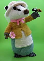 Alan Dart Knitting Pattern for Raiponce