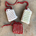 Mesh double knit Soap Savers pattern